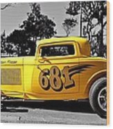 Lil' Deuce Coupe Wood Print