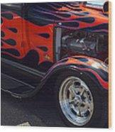 Lil Duece Coupe Wood Print