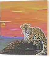 Lil' Leopard Wood Print
