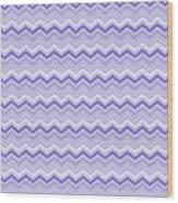 Lilac Chevron Wood Print
