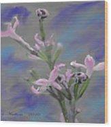 Lilac Dream Wood Print
