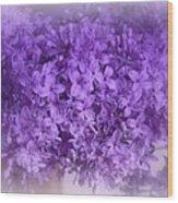Lilac Fantasy Wood Print