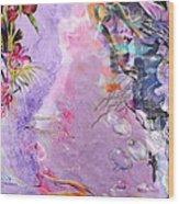 Lilac Goldfish Wood Print