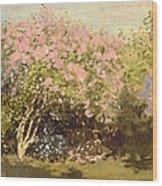 Lilac In The Sun, 1873 Wood Print