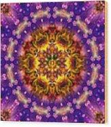 Sacred G Mandala 2 Wood Print