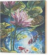Lilies #2 Wood Print