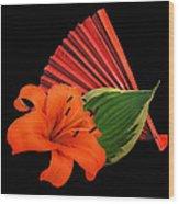 Lilies 2 Wood Print