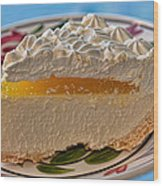 Lilikoi Cheese Pie Wood Print by Dan McManus