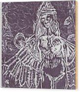 Lilith Wood Print