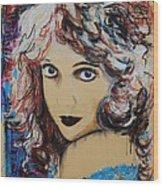 Lillian Gish Wood Print