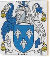 Lillie Coat Of Arms Irish Wood Print