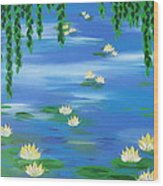 Lillies 1 Wood Print