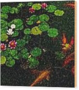 Lily 0147 - Pastel Pencil 1 Sl Wood Print