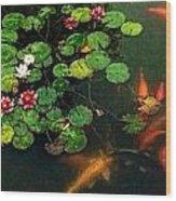 Lily 0147 - Watercolor 1 Sl Wood Print
