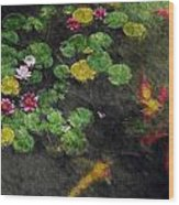 Lily 0147 - Watercolor 2 Sl Wood Print