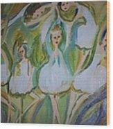 Lily Allegro Ballet Wood Print