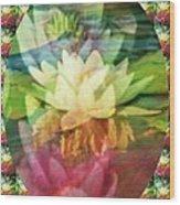 Lily Birth Wood Print