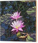 Lily Monet Wood Print