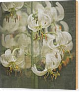 Lily My Love Wood Print