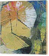 lily Pond 2 Wood Print