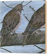 Limbirds Wood Print