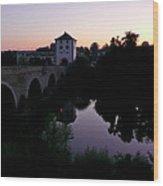 Limburg Dawn Wood Print