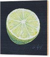 Lime Wood Print