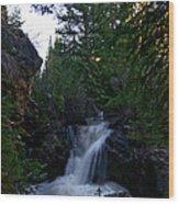 Lime Creek Wood Print