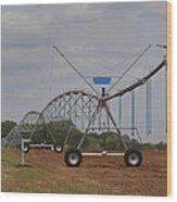 Limestone County Crop Irrigation Wood Print