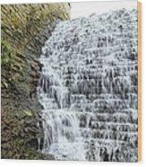 Limestone Falls 2 Wood Print