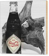 Limited Edition Coke - No.438 Wood Print