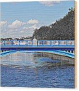 Limited Edition Dublin Bridge Wood Print