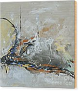 Limitless 1 - Abstract Painting Wood Print