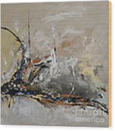 Limitless - Abstract Painting Wood Print by Ismeta Gruenwald