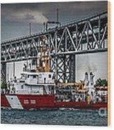 Limnos Coast Guard Canada Wood Print