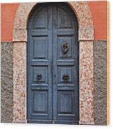 Limone Door Wood Print