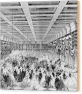 Lincoln Ball, 1865 Wood Print