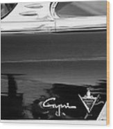 Lincoln Capri Emblem Wood Print by Jill Reger