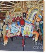 Lincoln Centennial Horse Wood Print
