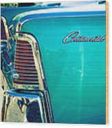 Lincoln Continental Wood Print