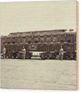 Lincoln Funeral Car, 1865 Wood Print