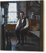 Lincoln In The Attic 2 Wood Print by Ray Downing