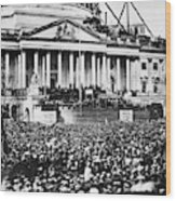 Lincoln Inauguration, 1861 Wood Print