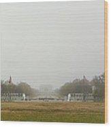 Lincoln Memorial And World War II Memorial - Washington Dc - 01131 Wood Print
