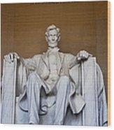 Lincoln Memorial Wood Print