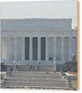 Lincoln Memorial - Washington Dc - 01131 Wood Print