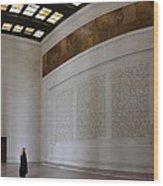 Lincoln Memorial - Washington Dc - 01132 Wood Print
