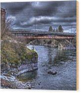 Lincoln Street Bridge 2013 Wood Print