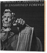 Lincoln The Legacy Of A President Wood Print
