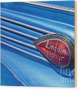 Lincoln Zephyr Wood Print